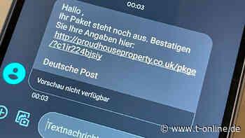 Trojaner-Gefahr durch Paket-SMS: Was tun,  wenn man auf den Link geklickt hat?