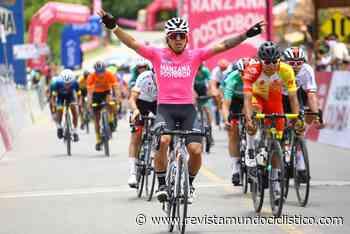 Esteban Guerrero se impone en Villa de Leyva. Jesús David Peña a una jornada del título de la Vuelta de la Juventud - Revista Mundo Ciclistico