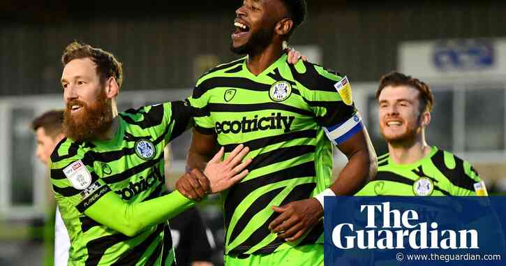 Forest Green look to break new ground by appointing first female manager
