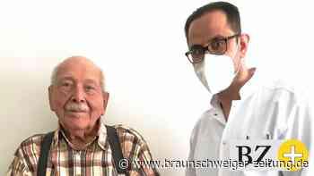Klinikum Peine: 101-Jähriger verblüfft mit guter Laune
