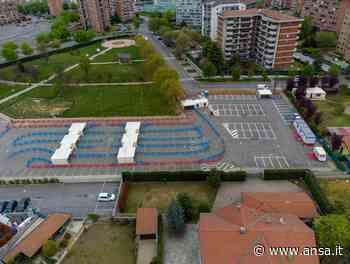 Vaccini: Orbassano, apre centro drive through - Piemonte - Agenzia ANSA