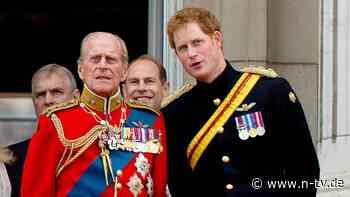 """Prinzen würdigen ihren Großvater: Harry über Philip: """"Der Meister des Barbecue"""""""
