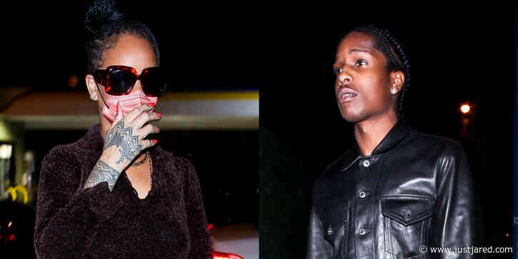 Rihanna & A$AP Rocky Step Out For Dinner at Delilah Together