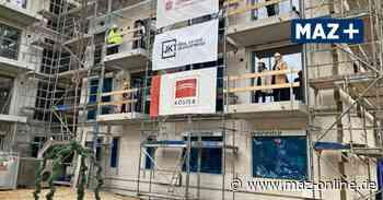 Richtfest im Johanniter-Quartier: In Michendorf entstehen Kita und Seniorenwohnungen an einem Ort - Märkische Allgemeine Zeitung