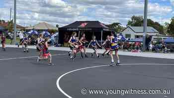 Young's open netball side triumph at home carnival | Photos - The Young Witness
