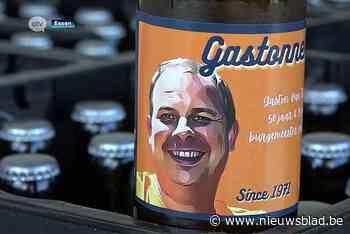 'Het Gastonneke': bier voor een jarige burgemeester