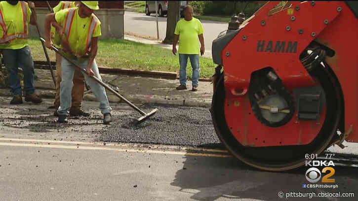 Pittsburgh To Invest $16M In Street Resurfacing Program This Year