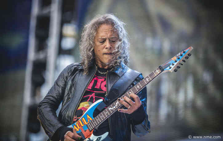 Kirk Hammett's signed guitar from Metallica's 'One' video sells for £82,000 at auction