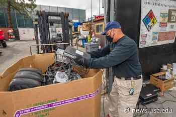 E-waste isn't wasted at USC, thanks to a community partnership - USC News