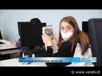 Fermo - Stop ai vaccini sui professori, c'è il rischio della didattica a distanza - Vera TV