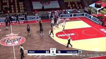 Basket, Jeep Elite Le résumé de Monaco - Châlons-Reims - L'Équipe.fr
