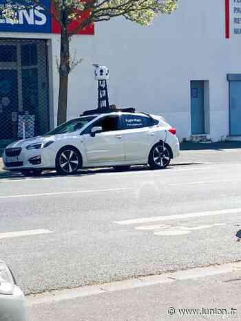 Une voiture pour mettre à jour les rues de Reims sur Apple - L'Union