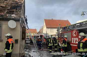 Wohnhausbrand in Schernau: 67-Jähriger erleidet Rauchgasvergiftung