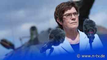 Missstände bei Elitetruppe: AKK weist Vorwürfe in KSK-Affäre zurück