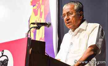 Vaccines Will Last Only 3 Days: Kerala Chief Minister Writes To Centre - NDTV