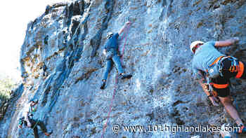 Rock climbing in the Highland Lakes - The Picayune