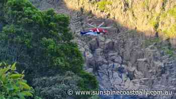Father and teenage sons rescued after rock climbing incident - Sunshine Coast Daily