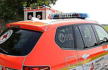 Scheidegg: Biker fliegt über Leitplanke - BSAktuell