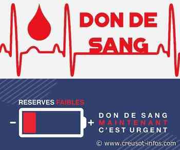COUCHES : La prochaine collecte de sang de l'amicale Monts Vignes et Dheune est annoncée - Creusot-infos.com