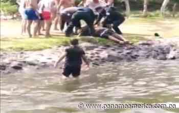 Joven bañista se salva de morir ahogado en el Caño de Dolega, Chiriquí - Panamá América
