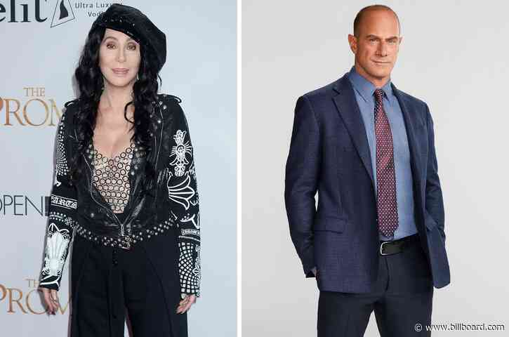 Cher Can't Contain Her Appreciation for Christopher Meloni Either