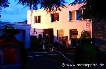 FW-DO: Feuer in der Nordstadt / Senior aus Brandwohnung über tragbare Leiter gerettet.