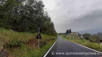 La Metrocittà asfalta la provinciale di Malmantile - Qui News Empolese