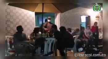 En Caramanta descubrieron una rumba con 50 personas en una cantina - Caracol Radio