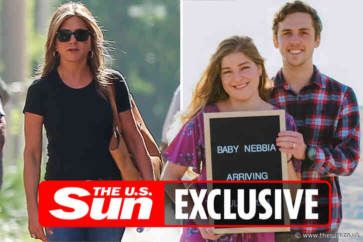 Jennifer Aniston, 52, will be a GREAT AUNT as niece Eilish Melick, 24, reveals she's pregnant with a baby boy