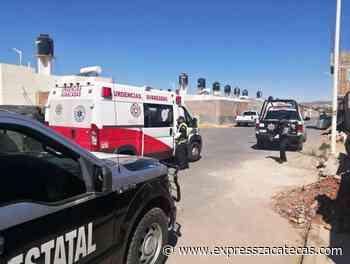 Dejan mal heridos, graves, a dos masculinos en El Orito - Express Zacatecas