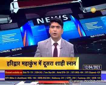 Haridwar: Coronavirus Guidelines overlooked during the second royal bath at Mahakumbh - Zee Business