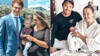Geelong Cats and AFL player Gary Rohan's ex-wife Amie Rohan opens up on divorce and losing child - 7NEWS.com.au