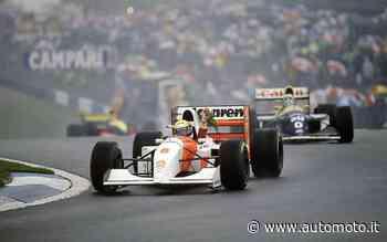 Formula 1, Donington '93, l'altra faccia della medaglia del capolavoro di Senna - Automoto.it