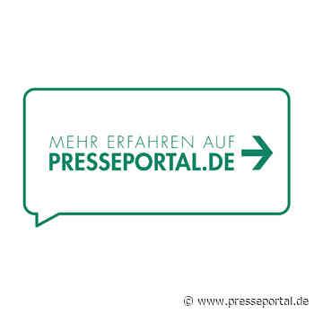 LPI-J: Medieninformation der PI Apolda für den Zeitraum vom Freitag, 09.04.21, 06:00 Uhr bis Sonntag,... - Presseportal.de
