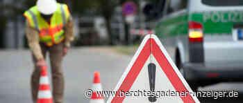 Beinah-Zusammenstoß beim Überholen – Auto landet im Graben - Berchtesgadener Anzeiger