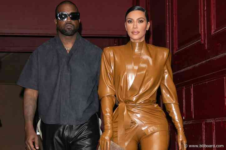 Kanye West Asking for Joint Custody of 4 Kids in Divorce From Kim Kardashian