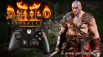 Diablo II: Resurrected Technical Alpha PC Controller Gameplay
