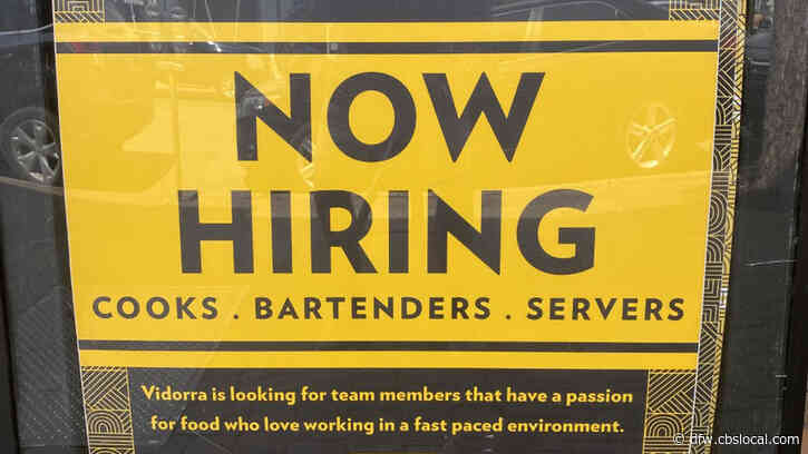North Texas Restaurants Having A Hard Time Staffing Up Following 'Reopening' Of State