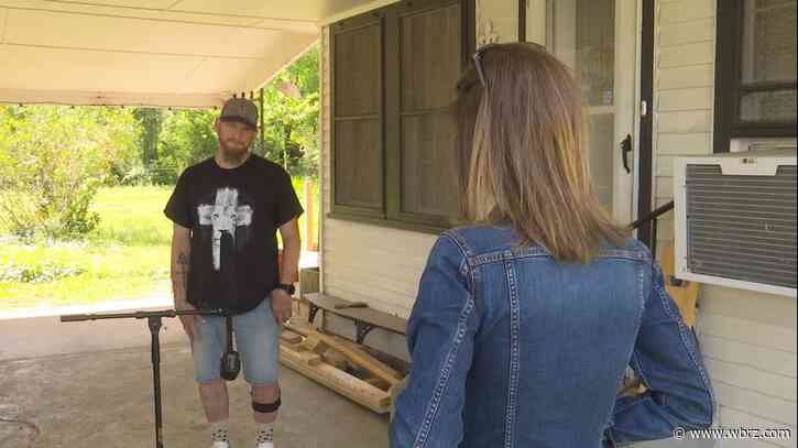 Hit-and-run victim says he forgives driver; benefit planned for this weekend