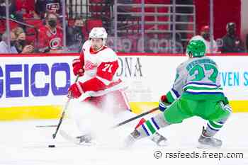Detroit Red Wings game vs. Carolina Hurricanes: Live updates