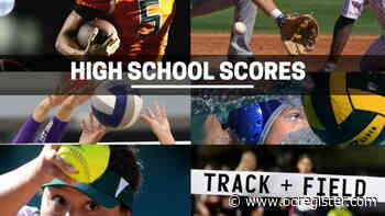 Orange County scores and player stats for Monday, April 12