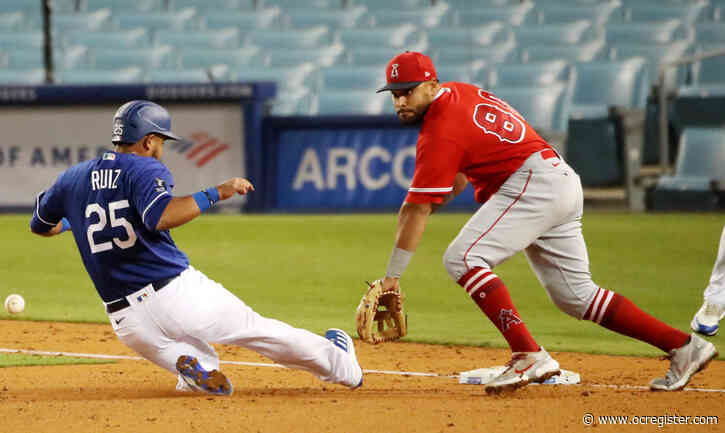 Jose Rojas to get bulk of time at third for Angels with Anthony Rendon out