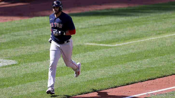 Baseball Report: J.D. Martinez, Red Sox On Fire