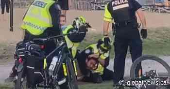 Montreal Police investigate violent arrest at park, calls for body cams renewed