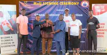 Ghana Badminton Association, UEW sign MoU to promote badminton - GhanaWeb