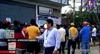 Cola de 10 cuadras para recoger DNI en Puerto Maldonado - El Comercio Perú