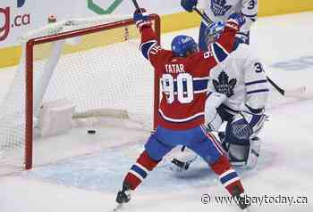 Habs end three-game skid with 4-2 victory, halting Toronto's six-game win streak