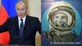 On 60th anniversary of Yuri Gagarin's historic flight, President Vladimir Putin vows Russia will remain space power