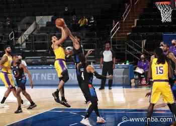 Running Diary: Lakers 96 | Knicks 111 (04/12/21)