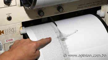 Ciudadanos reportan sismo en Cochabamba, Observatorio San Calixto dará informe - Opinión Bolivia
